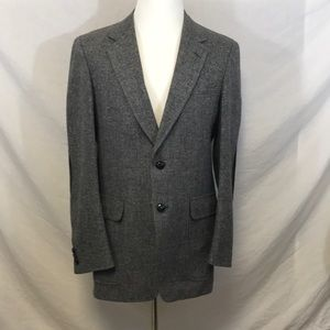 Other - Men's Alfred Downing L Wool Sport Coat w/patches